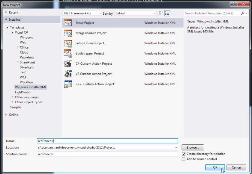 Start Page - Microsoft Visual Studio_2013-04-28_19-45-40