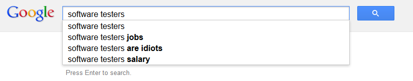 A genuine Google search; try it yourself!